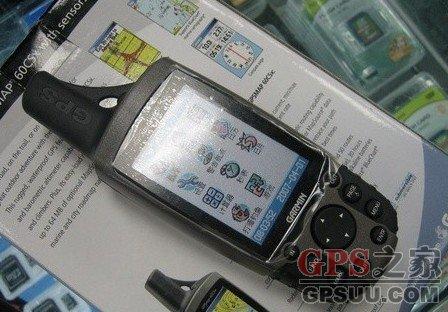 Garmin 60CSX手持GPS导航仪促销仅3280元 送原装耳机